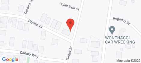 Location map for 79 Turner Street Wonthaggi