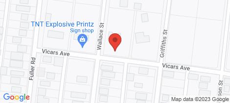 Location map for 13-17 Vicars Avenue Wonthaggi