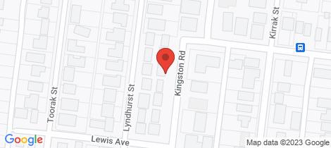 Location map for 41 Kingston Road Wonthaggi