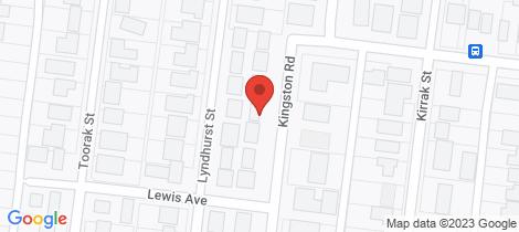 Location map for 39 Kingston Road Wonthaggi