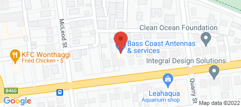Location map for 7/26-28 Graham Street Wonthaggi