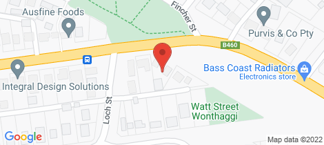 Location map for 3/3 Graham Street Wonthaggi