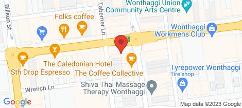 Location map for 111 Graham Street Wonthaggi