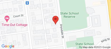 Location map for 2/16 Drysdale Street Wonthaggi