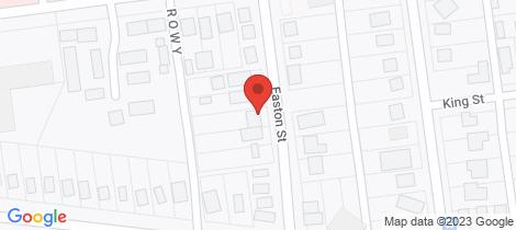 Location map for 6 Easton Street Wonthaggi