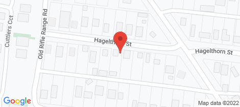Location map for 103 Hagelthorn Street Wonthaggi