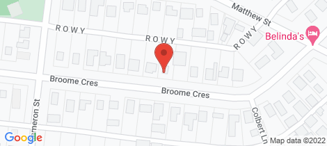 Location map for 70 Broome Crescent Wonthaggi