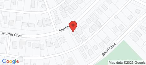 Location map for 73 Merrin Crescent Wonthaggi