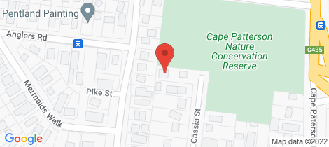 Location map for B/37 CASSIA STREET Cape Paterson