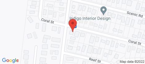 Location map for 47 CORAL ST Cape Paterson