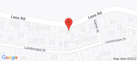 Location map for 105 Lees Road Venus Bay