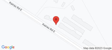 Location map for 70 Kairau Road East Waitara