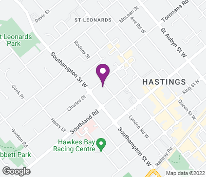 Map of 508 Lyndon Rd W in Hastings