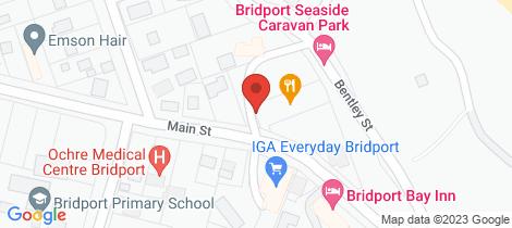 Location map for 8 Main Street Bridport