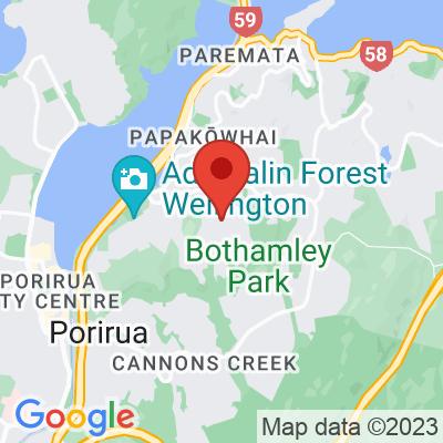 Map showing Aotea Espresso