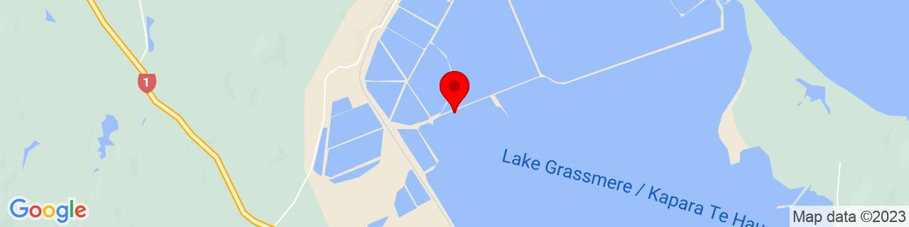 Google Map of -41.72366666666667, 174.14840555555554