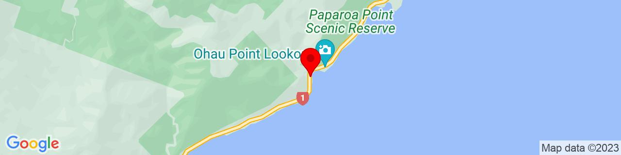 Google Map of -42.2455, 173.83151944444444