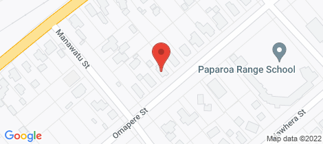Location map for 47 Omapere Street Dobson