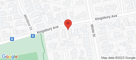 Location map for 277 Kingsbury Avenue Rangiora