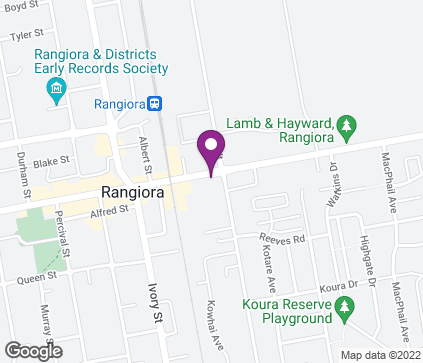 Map of 3 High Street in Rangiora