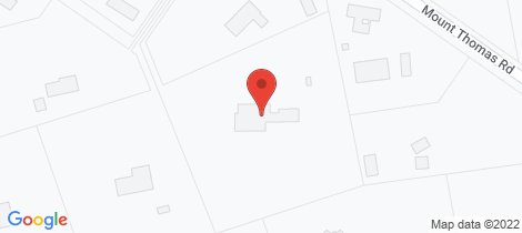 Location map for 77 Mt Thomas Road Fernside