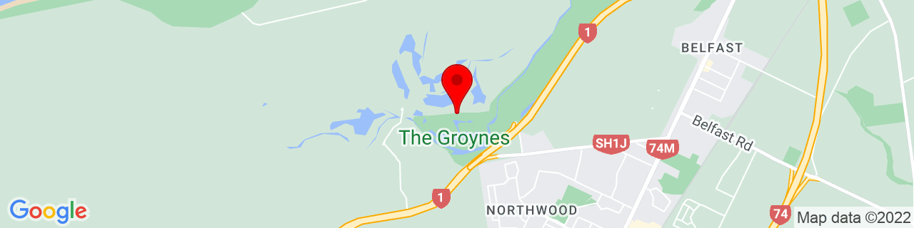 Google Map of -43.44905555555555, 172.60315277777778