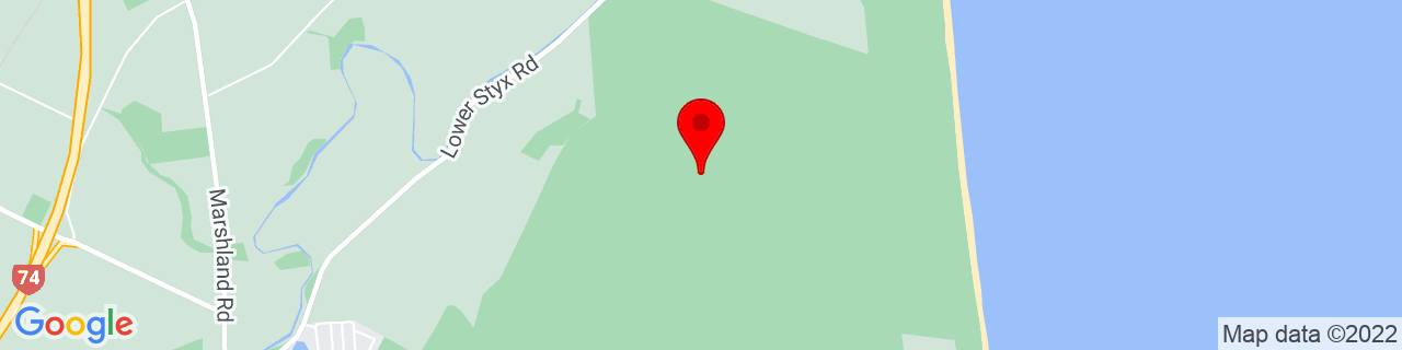 Google Map of -43.4508, 172.6954638888889
