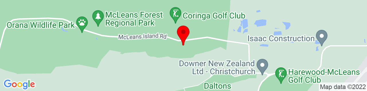 Google Map of -43.469972222222225, 172.493375