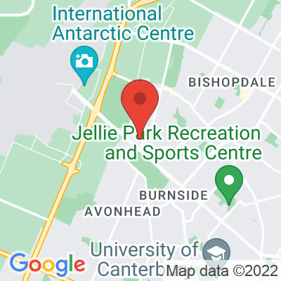 Map showing 43 Degrees Cafe