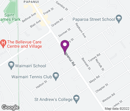 Map of 413 Papanui Road in Christchurch