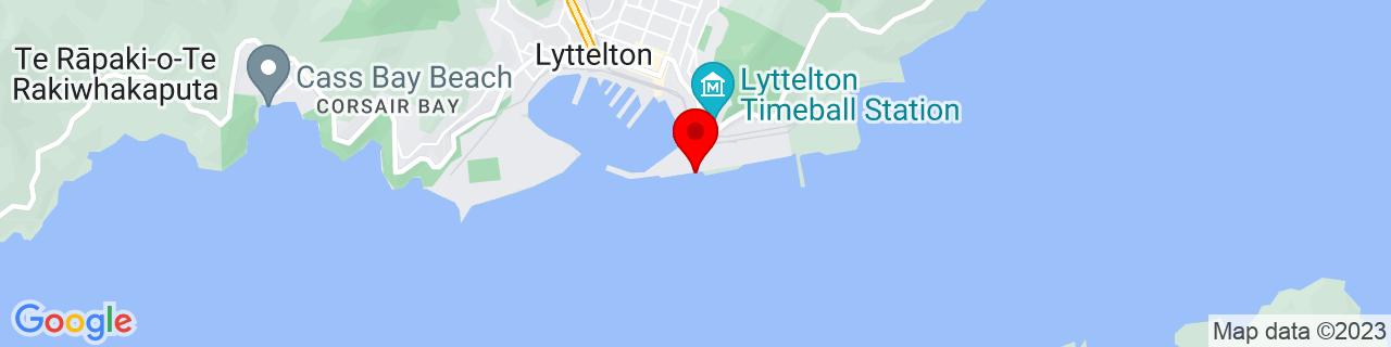 Google Map of -43.60959166666667, 172.7249888888889