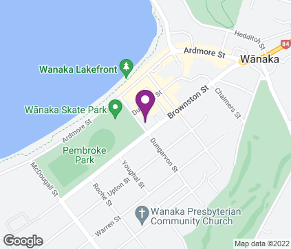 Map of Body & Sole, 24 Dungarvon Street in Wanaka