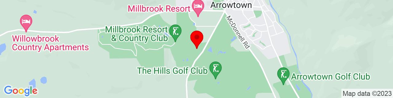Google Map of -44.950069444444445, 168.82029444444444