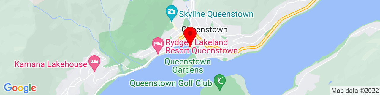 Google Map of -45.03383611111111, 168.66142222222223