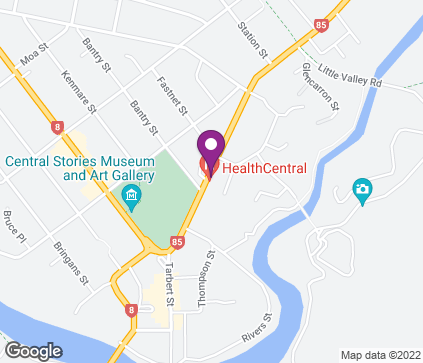 Map of Central Medical Centre, 93 Tarbert Street in Alexandra