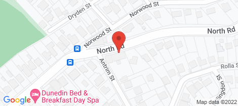Location map for 454 North Road North East Valley