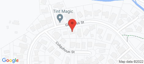 Location map for 103 Glenross Street Glenross