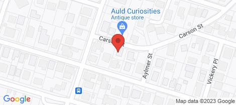 Location map for 78 Carson Street Maryhill