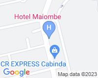 Hotel Maiombe - Mapa da área