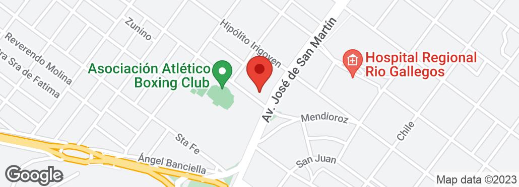 Av. José de San Martín y Pcias. Unidas , Río Gallegos, Santa Cruz, SC