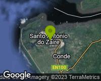 Soyo - Mapa da área