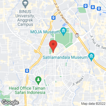Map of BCBGMAXAZRIA at Senayan City at Jl. Asia Afrika Lot 19, South Jakarta, Jakarta 10270