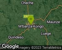 M`Banza Congo - Area map