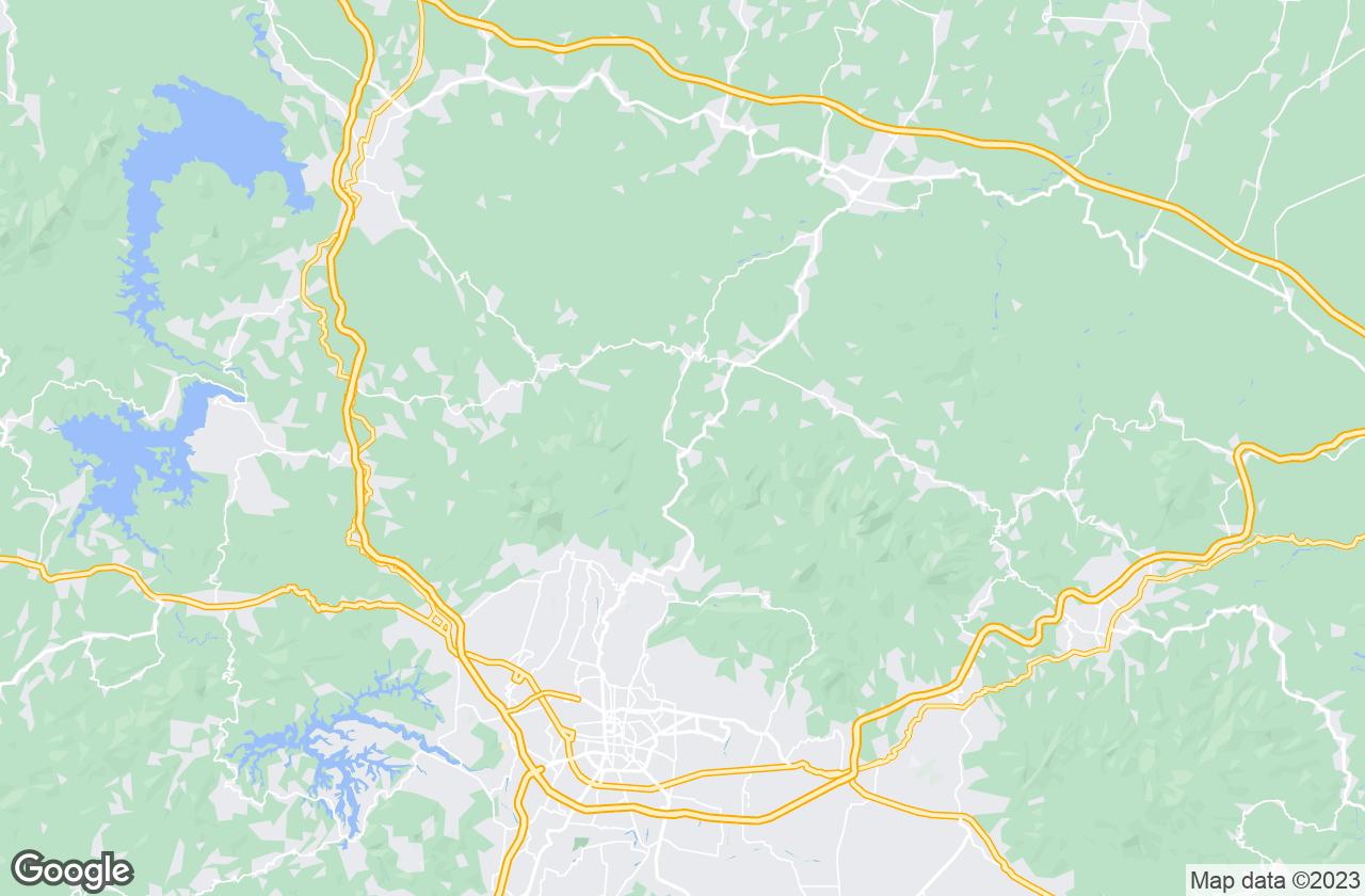 Google Map of في Ciater