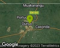 Lunda-Norte - Mapa da área