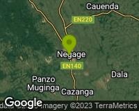Negage - Mapa da área