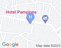 Hotel Pamplona - Mapa da área
