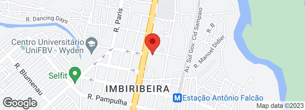Av. Mal. Mascarenhas de Moraes, 2727 Bairro Imbiribeira, Recife, PE