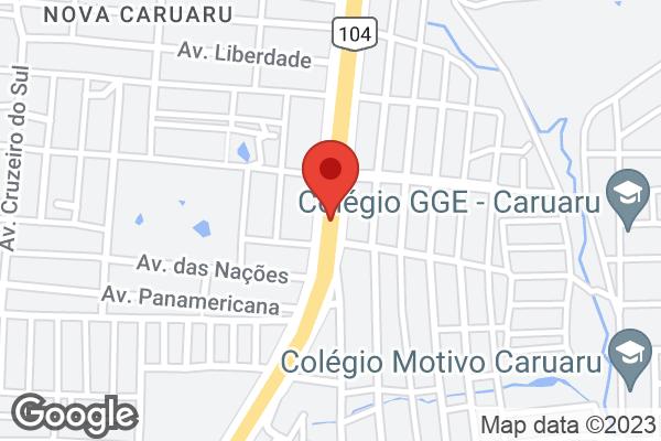 Av. Dos Estados, 269 - Br 104 Norte Bairro Nova Caruaru, Caruaru, PE
