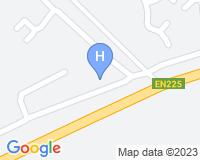 Iu Hotel Caxito - Mapa da área